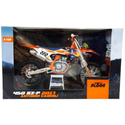 Model KTM 450 SX-F Cairoli Replica