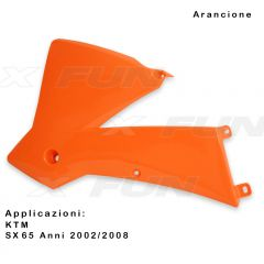 Radiator scoops KTM SX/SX-F