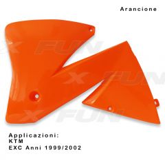 Radiator scoops KTM EXC/EXC-F
