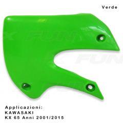 Ouies de radiateurs KAWASAKI KX/KX-F