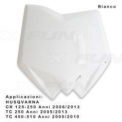 Front number plate HUSQVARNA
