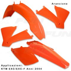 Kit Plastiques KTM EXC/EXC-F