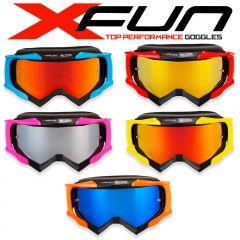 Occhiale Motocross 18 Type Mirror Lens
