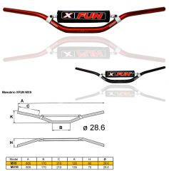 Handlebars Cross/Enduro MX10 X FUN