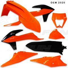 Plastic Kit EXC/F 2020